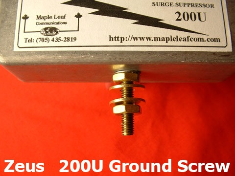 Zeuss 200U Ground Screw